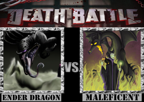 Ender Dragon VS. Maleficent by Grimmjow-thesexta