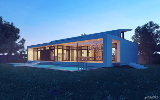 Modern Residential Architecture by artec1