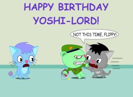 B-day gift for Yoshi-lord by GoneIn10Seconds