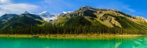 Malign Lake Pano by KRHPhotography