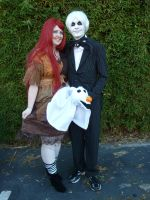 Nightmare Before Christmas Cosplay (Onicon 2013) by RaisloverSakura