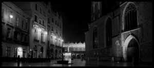 Cracow by night 3 by kazzdavore