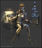 RobotChic... by Miggs69