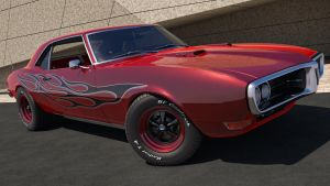 1968 Pontiac Firebird 400 by SamCurry