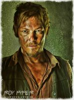 The Walking Dead: Daryl: BuzSim Paint Re-Edit by nerdboy69