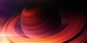 Abstract Saturn by roald92
