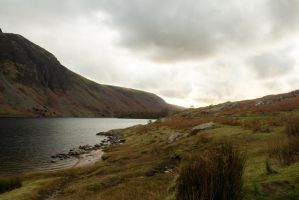 Wast Water by RaeyenIrael-Stock