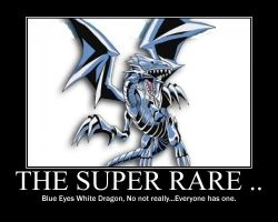 Blue Eyes White Dragon by Vampiress-Stocking