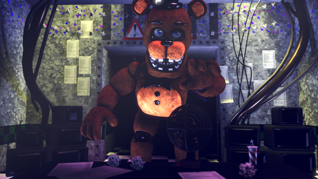 Withered Freddy Appear V.1 by Shadowredsfm