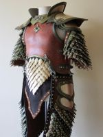 Elven Swordsinger Leather Armor (10th anniversary) by Flacusetarhadel
