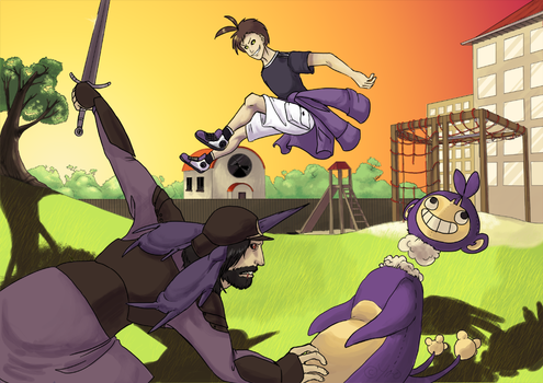 The fight over purple by umbbe