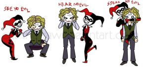 No Harley.. I Mean Evil by Cat-The-Rawr