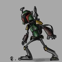 Boba Fett, 8 by Ayej