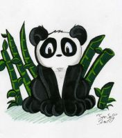 Panda icon by Sea-Salt