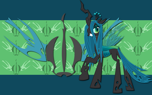 Queen Chrysalis WP by AliceHumanSacrifice0