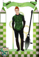 HA: Slytherin Quidditch - Cato Donegal by Sazyce