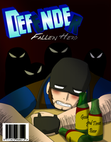 Defender, Fallen Hero First Issue Cover by Saruteku