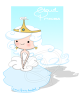 OC: Cloud Princess - Adventure Time by Cifix