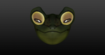 Young Frog Face 1 by ZACHARlE