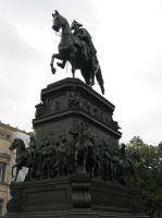 Frederick the Great Monument-Berlin by Rheinhard
