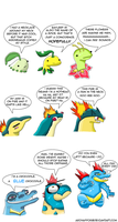 The Johto Starters by Archappor