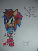 Sonia_The_Hedgehog by Sonar15