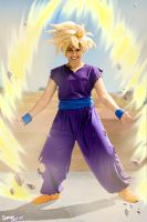DBZCosplay: Power UP by TechnoRanma