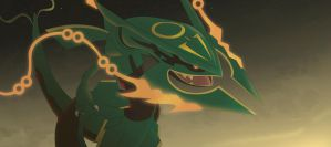 Mega Rayquaza by All0412