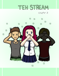 Teh Stream Chapter 3 - Cover by DoubleLeggy