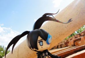 Top of 'My' House - Black Rock Shooter by Odessa-Himijo