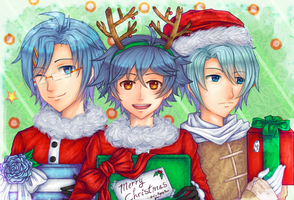 A Hatoful Christmas by NaruFan808