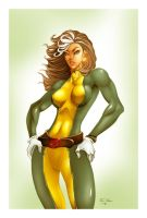 Rogue-X-Men colors by ErikVonLehmann