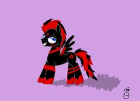 Free comission for Crimson-fastback by co-nay