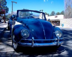 Classic VW Bug in Ruidoso, NM by DeloreanREB