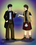 Two and Jamie by cardinalbiggles