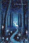 Magical Stag in the Forest by FaerySayles