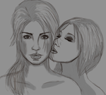 Lara/Sammy by EquineBiohazard