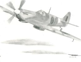 Spitfire MK.IX by TheBebopPilot