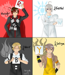 RWBYtalia: Team RWBY by AmaiYuzuki564
