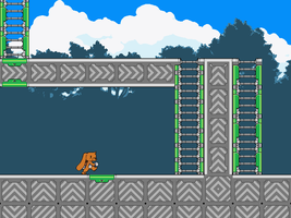 Tileset Test (Ladder Tile Test) by BLKMKT