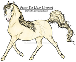 Cremello Horse by Jeanny89