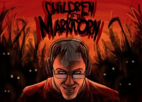 Markiplier Fanart: Children of the Markicorn by garnetbarren