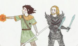 Hobbit - Skyrim AU by honest-liar-13