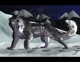 .Snow Leopard. by TussenSessan