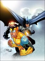Invincible Batman Colors by SplashColors