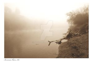 American River Sepia by photodoc2