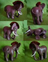elephant pony by funshinebear