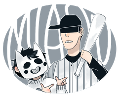 Zacharie and Batter by zullyvantas