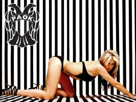 Paok girl by fanis2007
