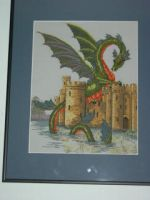 Dragon Cross Stitch 2000 - 2010 by Angelcoleman